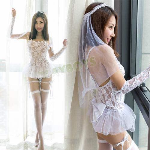 花嫁的誘惑性感新娘裝