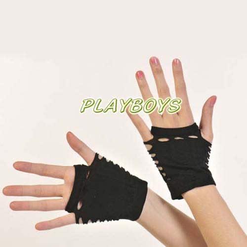 開指絲襪觸感手套(洞洞)