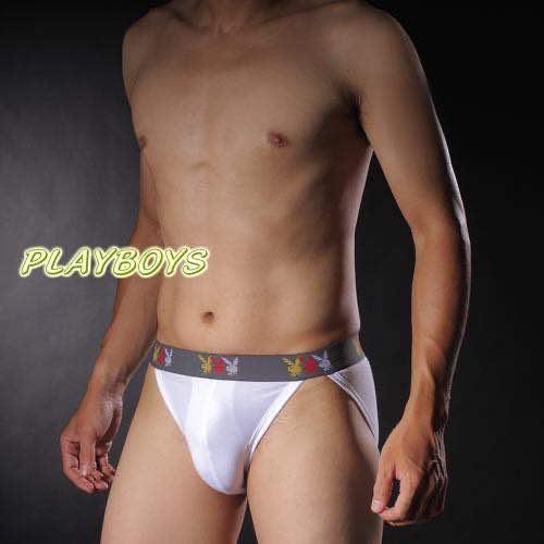 PLAYBOY-彈性萊卡褲