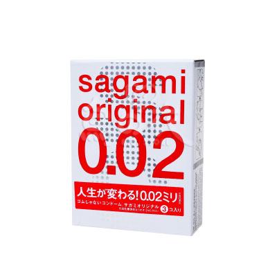 日本Sagami-相模原創002保險套(3入)