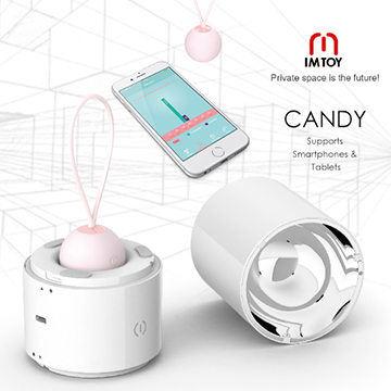 美國IMTOY CANDY 紫外線殺菌 智能APP互動教學 凱格爾訓練聰明球