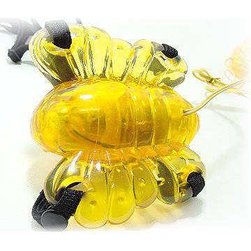 《 迷蝴蝶女用穿戴式按摩器》採用果凍膠製成