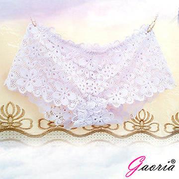 【Gaoria】想入非非 一片式 蕾絲款 冰絲無痕內褲 白