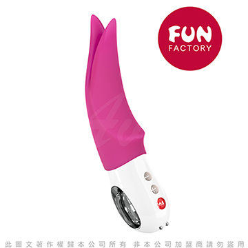 德國Fun Factory Volta 沃爾特 多功能仿舌外部震動器-玫紅 充電式