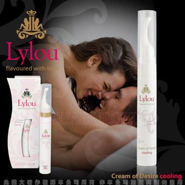 德國Lylou- Cream of Desire Cooling 頂級奢華奶油慾望冰感情趣提升凝露