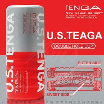 日本TENGA 陰部+後庭 雙頭2用型自慰杯 US加大款 TOC-104US