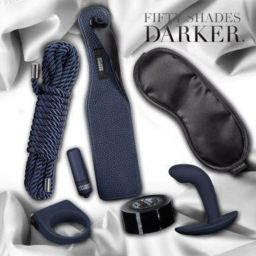 Fifty Shades Darker 格雷的五十道陰影2-束縛 豪華情趣束縛套組