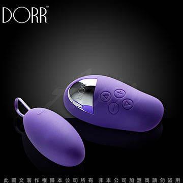 美國DORR SPOT 斯帕 5段變頻 遙控器與跳蛋雙震動 無線遙控跳蛋 迷惑紫