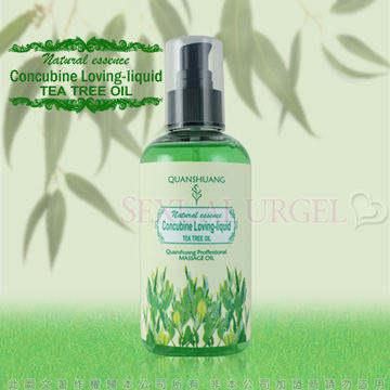 Concubine Loveing-Liquid 全身按摩潤滑油-清新茶樹