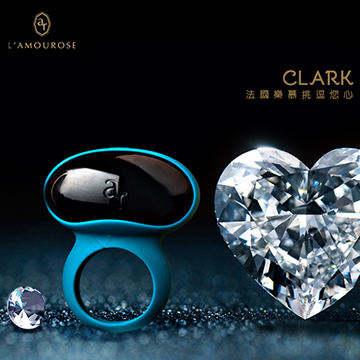 法國L`amourose CLARK 克拉克 男士震動環 深青色