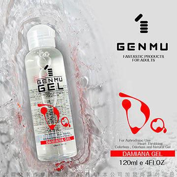 日本GENMU GEL 水性潤滑液 120ml 01 DAMIANA 女性情趣提升型 紅色