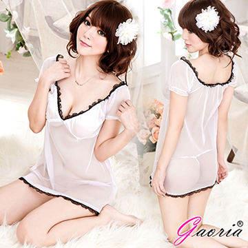 【Gaoria】純潔天使 透明情趣睡裙睡衣