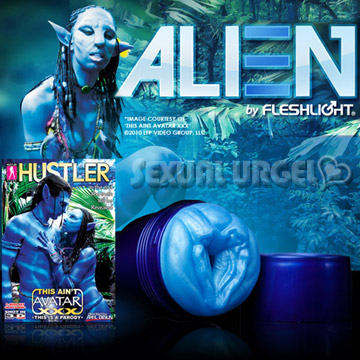 美國FleshLight - Alien 異型阿凡達~『HUSTLER最新力作』