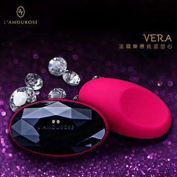 法國L`amourose Vera薇拉 女用陰蒂刺激按摩器 櫻桃紅