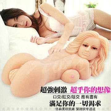 色琳娜 13.8Kg 重量級 口交/肛交/陰交 3D仿真構造 自慰器娃娃