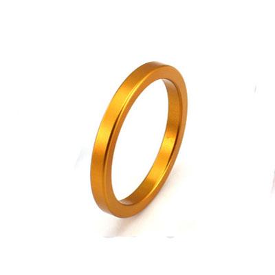 太空鋁延時環-屌環(4公分)黃金色