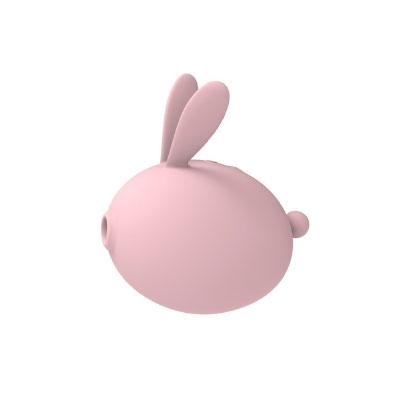 呆萌兔兔吮吸震動按摩器