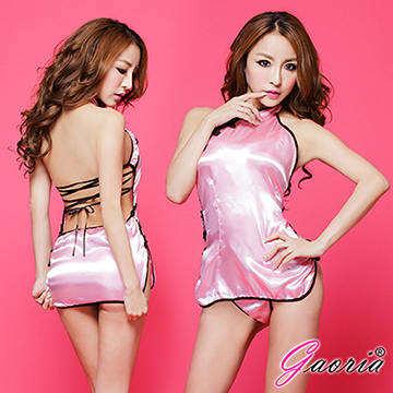 【Gaoria】上海之戀 柔緞美背旗袍裝 性感情趣睡衣
