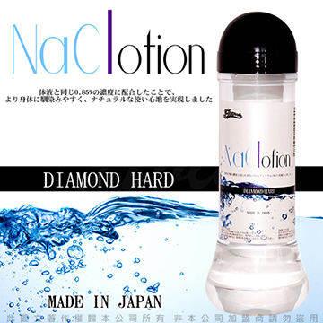 日本原裝NaClotion 自然感覺 潤滑液360ml DIAMOND HARD 高黏度/濃稠型 黑