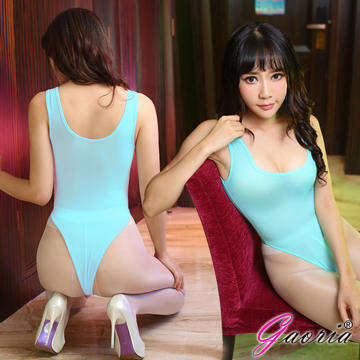 【Gaoria】萌娘神器 輕薄透明 死庫水 情趣泳衣 綠