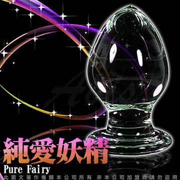 GLASS 重量級 純愛妖精 肛塞 玻璃水晶後庭冰火棒 Anus 48