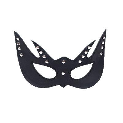 舞艷女王 皮革情趣眼罩(黑)