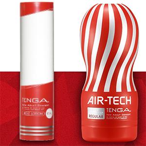 TENGA TECH飛機杯+TENGA 潤滑液