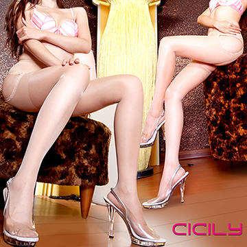 CICILY 唯美情境 免脫性感顯瘦連褲襪 膚