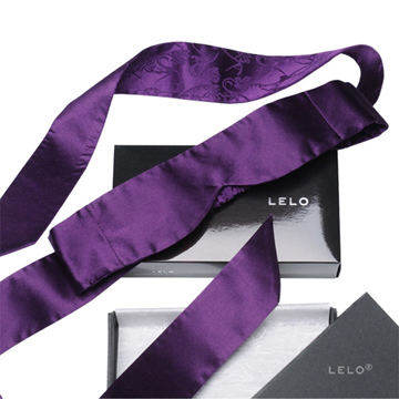 瑞典 LELO 絲綢系列 INTIMA SILK BLINDFOLD 純絲綢眼罩 (紫)