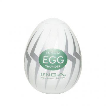 日本TENGA-EGG-007 THUNDER閃電型自慰蛋