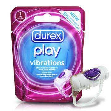 英國Durex《杜蕾斯強力震動環-單入裝》完美設計震動屌環,震動力超強
