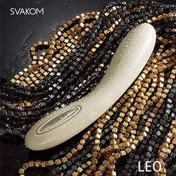 美國SVAKOM Leo 裏奧 智能模式 6段變頻 長效功能 大型G點按摩棒 卡其色