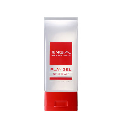 日本TENGA-PLAY GEL-NATURAL WET 自然清新型潤滑液(紅)150ml