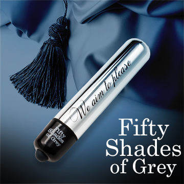 Fifty Shades Of Grey 格雷的五十道陰影 強勁 金屬子彈造型 震動按摩棒