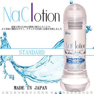 日本原裝NaClotion 自然感覺 潤滑液360ml STANDARD  中黏度/標準型 透明