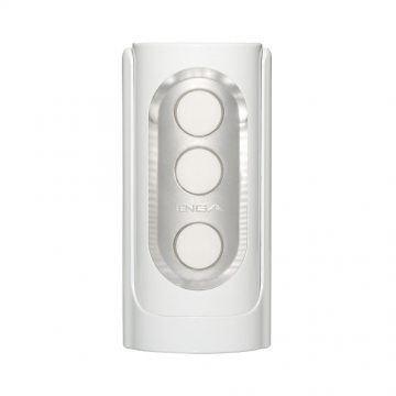 TENGA FLIP HOLE 致命武器重複使用體位杯.白色(THF-001)