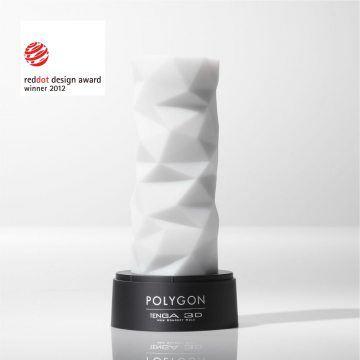 TENGA-3D New Concept Hole 立體紋路自慰套 TNH-004 Polygon(不規則多面體)