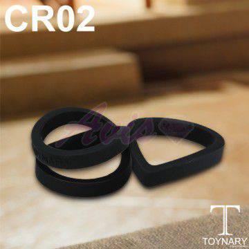 香港Toynary CR02 Black 特樂爾 猛男吊環-黑(2入)