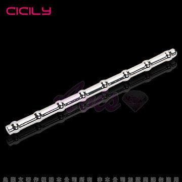 虐戀精品CICILY-馬眼連環計-金屬阻尿器
