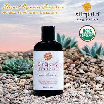 美國Sliquid-Sensation冰火交融水基潤滑液125ml