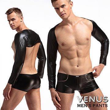 VENUS SM漆皮 緊身護袖運動健身袖套