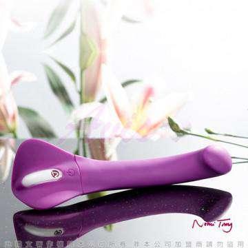 德國Nomi Tang-第二代甜蜜變奏曲wild觸摸式變頻按摩棒-迷情紫