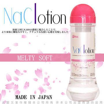 日本原裝NaClotion 自然感覺 潤滑液360ml MELTY SOFT 低黏度/水潤型 粉
