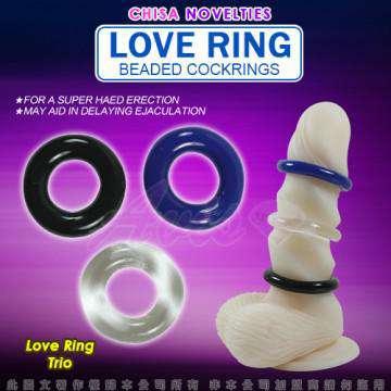 Love Ring-猛男增強鎖精三色環