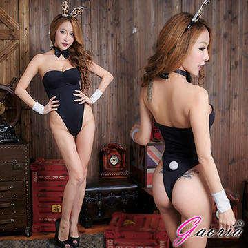 【Gaoria】烈火浪女 可愛兔子裝 角色扮演 制服 情趣睡衣角色服 黑