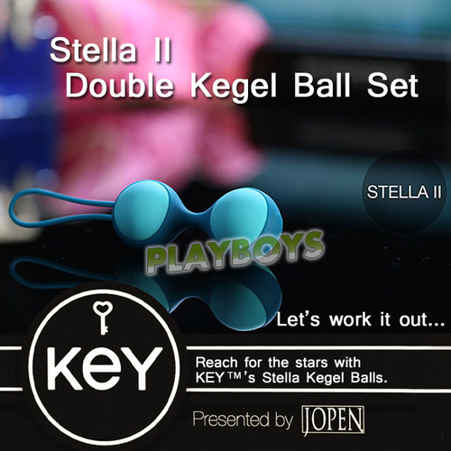 美國KEY-Stella II 斯蒂娜凱格爾運動球(雙球)