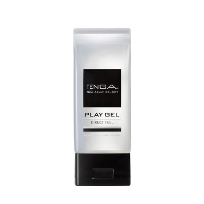 日本TENGA-PLAY GEL-DIRECT FEEL 鮮明觸感型潤滑液(黑)150ml
