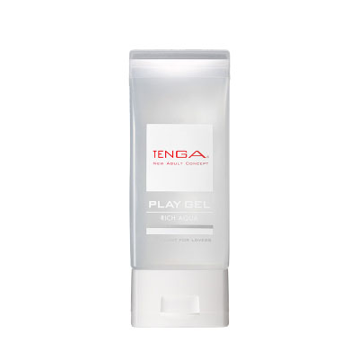 日本TENGA-PLAY GEL-RICH AQUA 濃厚型潤滑液(白)150ml