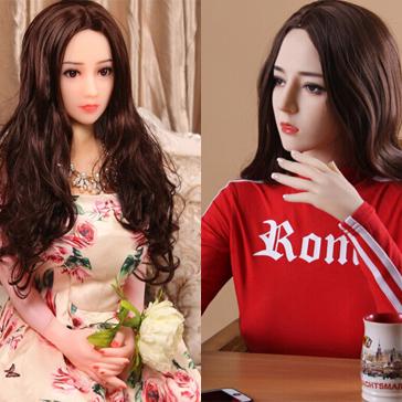 [優惠套裝]蓓樂 男用充氣娃娃+取樂 全矽膠美女娃娃