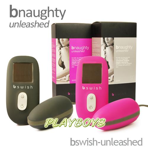 美國時尚藝術Bswish-unleashed橢圓細緻液晶遙控精蟲蛋